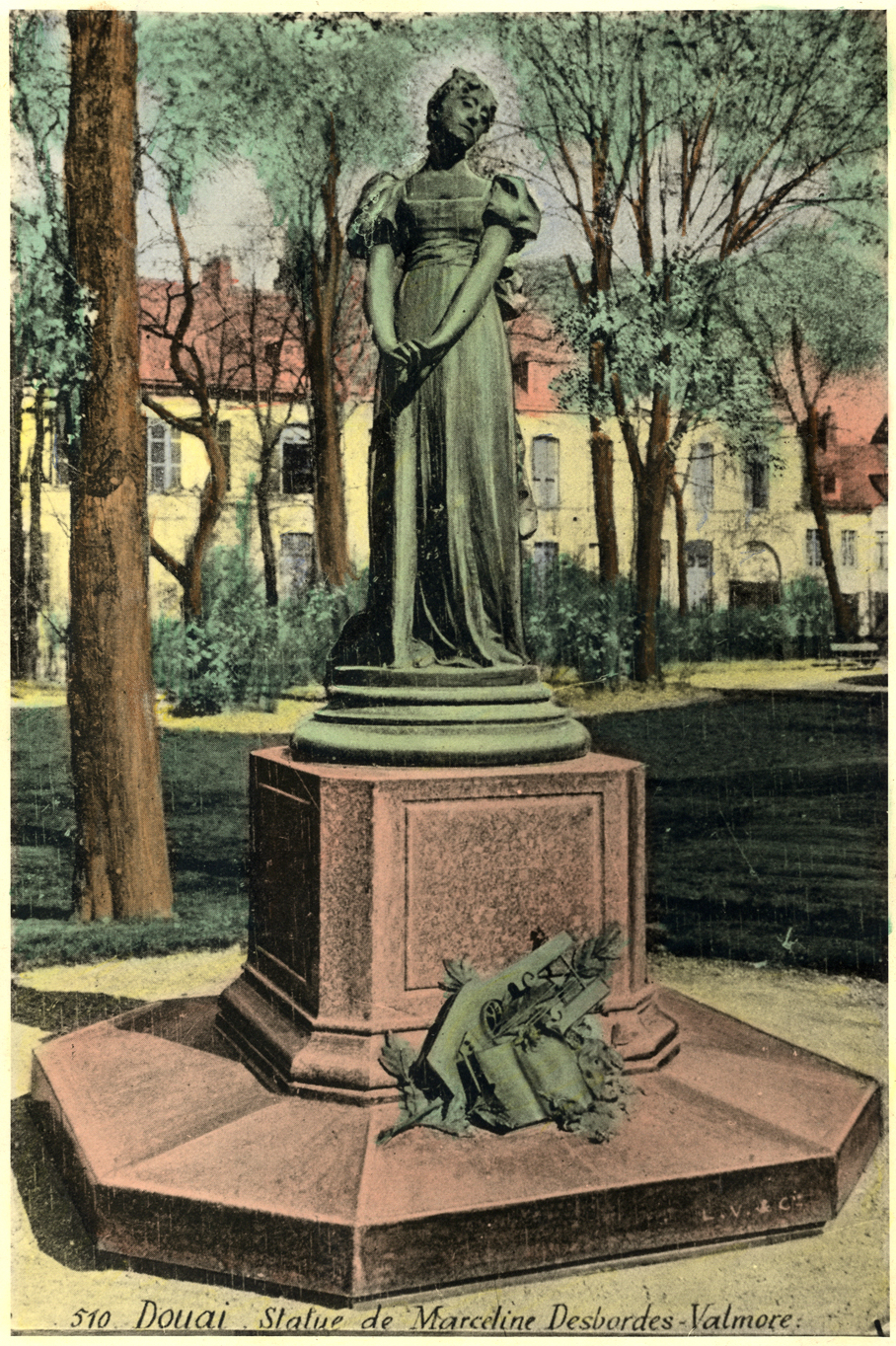 Ms 1848-38 MDV statue 1 photo colorisée