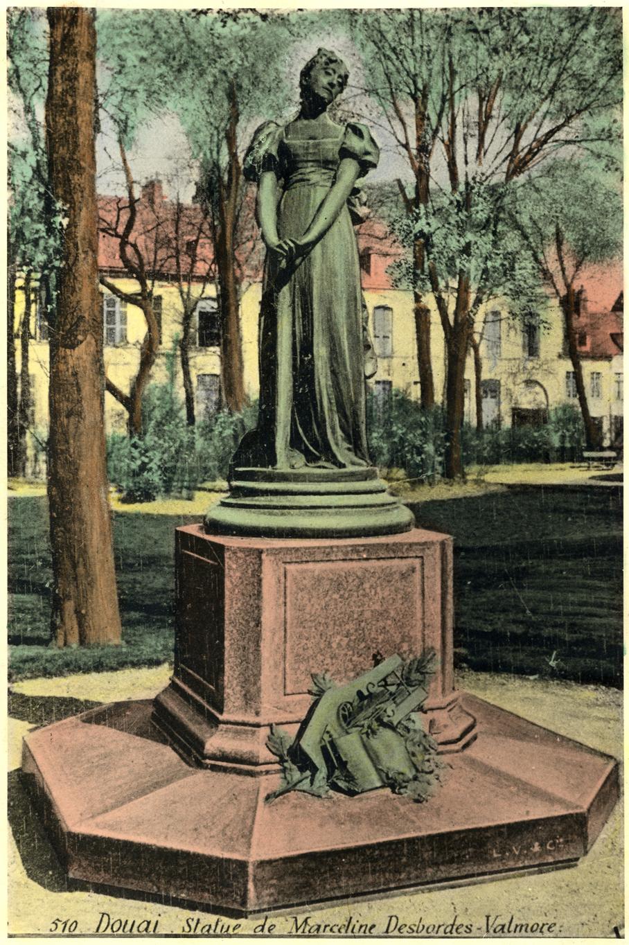 Ms 1848-38 MDV statue 1 photo colorisée