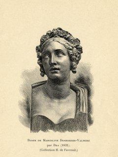 Ms 1848-27 MDV litho buste Th. Bra