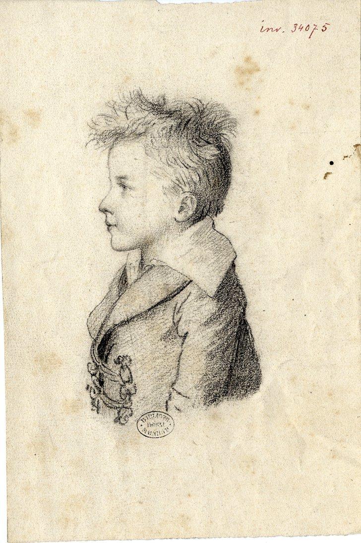 Ms 1848-65-2 Hippolyte enfant par C. Desbordes dessin