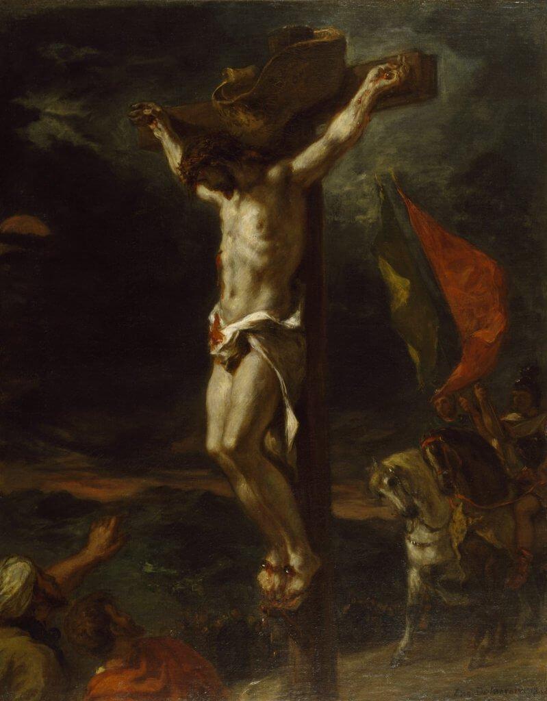 Eugène Delacroix, Christ en croix